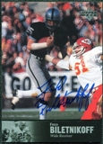 1997 Upper Deck Legends Autographs #AL18 Fred Biletnikoff