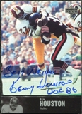 1997 Upper Deck Legends Autographs #AL27 Ken Houston