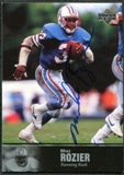 1997 Upper Deck Legends Autographs #AL36 Mike Rozier