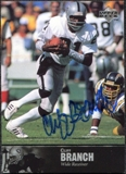 1997 Upper Deck Legends Autographs #AL80 Cliff Branch