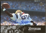 1997 Upper Deck Legends Autographs #AL121 John Jefferson