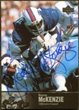 1997 Upper Deck Legends Autographs #AL138 Reggie McKenzie