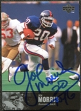 1997 Upper Deck Legends Autographs #AL146 Joe Morris