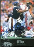 1997 Upper Deck Legends Autographs #AL156 William Perry