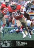 1997 Upper Deck Legends Autographs #AL167 Freddie Solomon