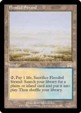 Magic the Gathering Onslaught Single Flooded Strand - SLIGHT PLAY (SP)