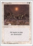 Magic the Gathering 3rd Ed (Revised) Single Armageddon LIGHT PLAY (NM)