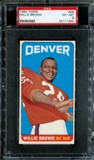 1965 Topps Football #46 Willie Brown Rookie PSA 6 (EX-MT) *1262