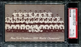 1947-1966 Exhibits Baseball New York Yankees Team PSA 4.5 (VG-EX+) *1303