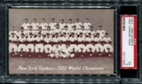 1947-1966 Exhibits Baseball New York Yankees Team PSA 5 (EX) *1304