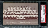 1947-1966 Exhibits Baseball New York Yankees Team PSA 2.5 (GOOD+) *1305