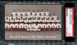 1947-1966 Exhibits Baseball New York Yankees Team PSA 5 (EX) *1307
