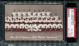 1947-1966 Exhibits Baseball New York Yankees Team PSA 4.5 (VG-EX+) *1313