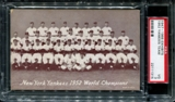 1947-1966 Exhibits Baseball New York Yankees Team PSA 3 (VG) *1315