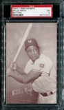 1947-1966 Exhibits Baseball Willie Mays (Batting) PSA 5 (EX) *1317