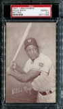 1947-1966 Exhibits Baseball Willie Mays (Batting) PSA 2.5 (GOOD+) *1325