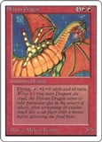 Magic the Gathering Unlimited Single Shivan Dragon UNPLAYED (NM/MT)