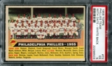 1956 Topps Baseball #72 Philadelphia Phillies Team (With Date) PSA 5 (EX) *8503