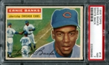 1956 Topps Baseball #15 Ernie Banks PSA 7 (NM) *8596