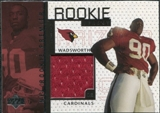 1998 Upper Deck Game Jerseys #GJ8 Andre Wadsworth