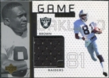 1998 Upper Deck Game Jerseys #GJ15 Tim Brown