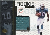 1998 Upper Deck Game Jerseys John Avery #GJ20
