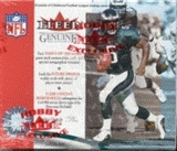 2001 Fleer Genuine Football Hobby Box