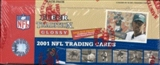 2001 Fleer Tradition Glossy Football Rack Box