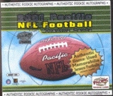 2001 Pacific Football Hobby Box