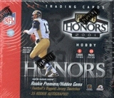 2001 Playoff Honors Football Hobby Box