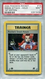 Pokemon Team Rocket Single Rocket's Sneak Attack 16/82 1st Edition - PSA 9 - *22915438*