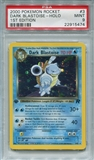 Pokemon Team Rocket Single Dark Blastoise 3/82 1st Edition - PSA 9 - *22915474*