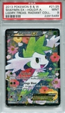 Pokemon Legendary Treasures Single Shaymin EX Full Art RC21/RC25 - PSA 9 - *22915489*