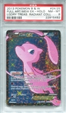Pokemon Legendary Treasures Single Mew EX RC24/RC25 - PSA 8 - *22915492*