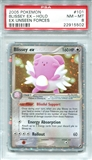 Pokemon Ex Unseen Forces Single Blissey EX 101/115 - PSA 8 - *22915502*