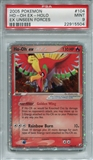 Pokemon Ex Unseen Forces Single Ho-oh EX 104/115 - PSA 9 - *22915504*