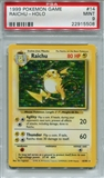 Pokemon Base Set 1 Single Raichu 14/102 - PSA 9 - *22915508*