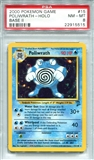 Pokemon Base Set 2 Single Pokiwrath 15/130 - PSA 8 - *22915515*