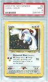 Pokemon Neo Genesis Single Lugia 9/111 - PSA 9 - *22915517*