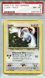 Pokemon Neo Genesis Single Lugia 9/111 - PSA 8 - *22915518*