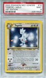 Pokemon Neo Genesis Single Togetic 16/111 1st Edition - PSA 9 - *22915520*