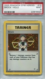Pokemon Gym Heroes Single Brock 15/132 - PSA 9 - *22915523*