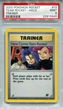 Pokemon Team Rocket Single Here Comes Team Rocket! 15/82 - PSA 9 - *22915540*