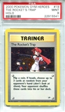 Pokemon Gym Heroes Single The Rocket's Trap 19/132 - PSA 9 - *22915541*