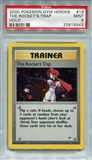 Pokemon Gym Heroes Single The Rocket's Trap 19/132 - PSA 9 - *22915543*