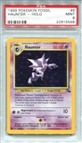 Pokemon Fossil Single Haunter 9/62 - PSA 9 - *22915548*