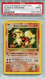 Pokemon Gym Challenge Single Blaine's Arcanine 1/132 - PSA 9 - *22915553*