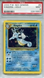 Pokemon Neo Genesis Single Kingdra 8/111 - PSA 9 - *22915557*