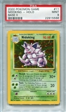 Pokemon Base Set 2 Single Nidoking 11/130 - PSA 9 - *22915566*