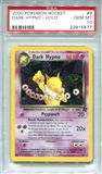 Pokemon Team Rocket Single Dark Hypno 9/82 - PSA 10 - *22915577*